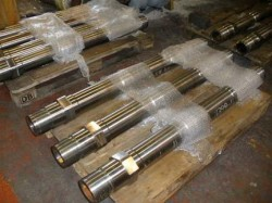 hydraulic mandrels finished in chrome