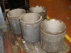 nickel plated cylinders